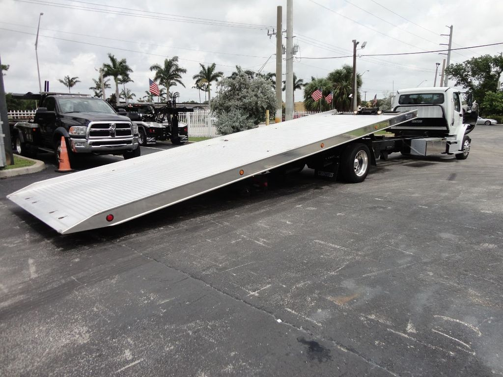 2013 Freightliner BUSINESS CLASS M2 106 CENTURY 3 - CAR CARRIER.. 30FT ALUMINUM DECK. - 17720215 - 15