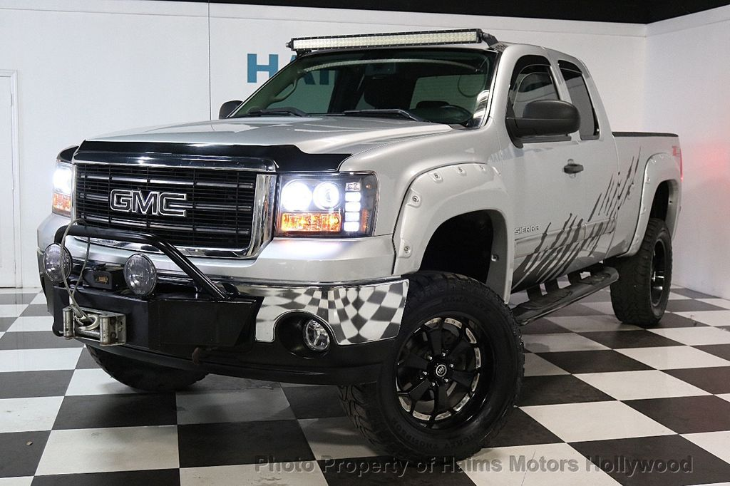 2013 used gmc sierra 1500 4wd ext cab 143 5 sle at haims motors serving fort lauderdale. Black Bedroom Furniture Sets. Home Design Ideas