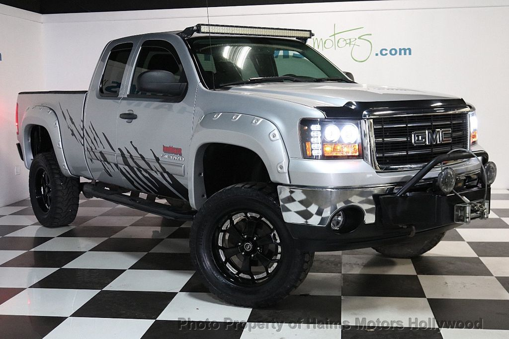 2013 used gmc sierra 1500 4wd ext cab 143 5 sle at haims motors ft lauderdale serving. Black Bedroom Furniture Sets. Home Design Ideas