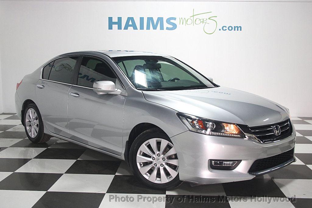 2013 used honda accord sedan 4dr i4 cvt ex l at haims for Used 2013 honda accord coupe