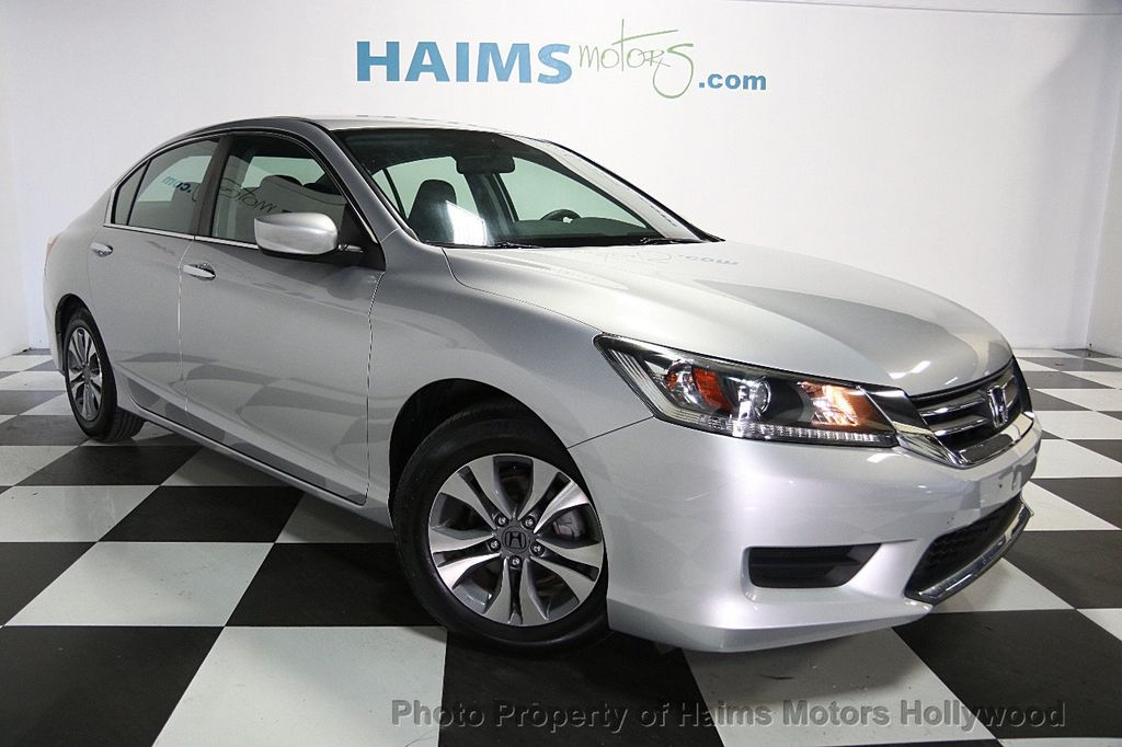 2013 used honda accord sedan 4dr i4 cvt lx at haims motors serving fort lauderdale hollywood for Honda accord used 2013