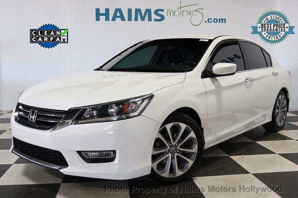 2013 Honda Accord Sedan 4dr I4 CVT Sport - 18692137 - 0