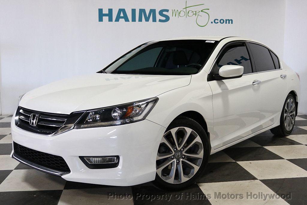 2013 Honda Accord Sedan 4dr I4 CVT Sport - 18692137 - 1