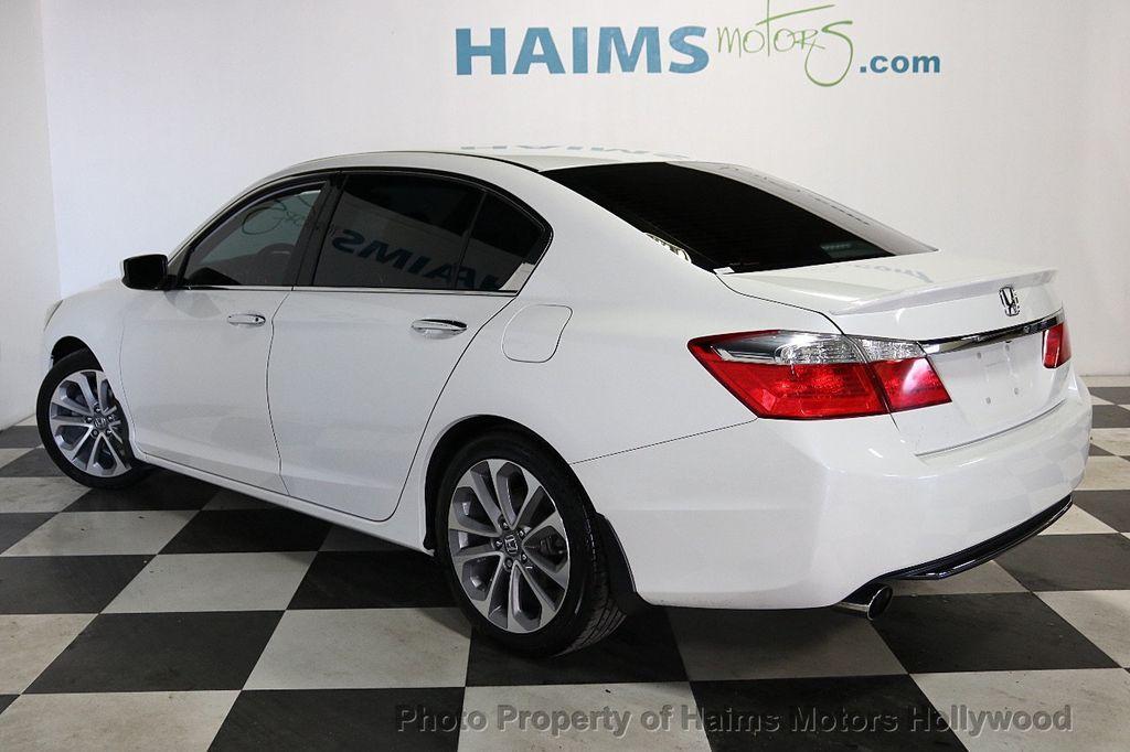 2013 Honda Accord Sedan 4dr I4 CVT Sport - 18692137 - 4