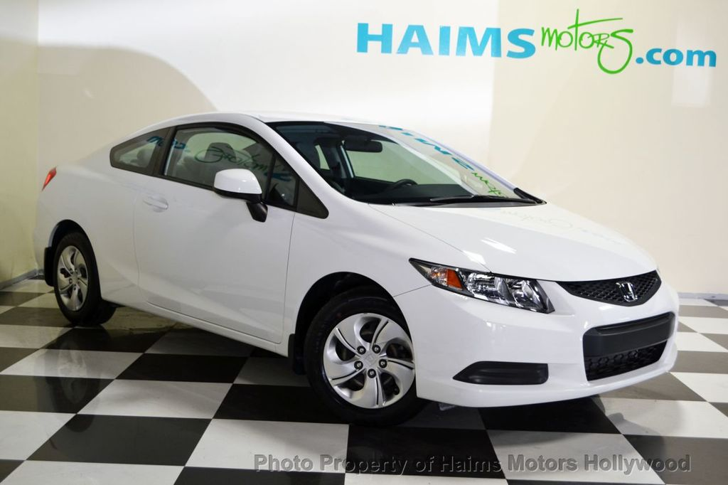 2013 used honda civic coupe 2dr automatic lx at haims motors ft lauderdale serving lauderdale. Black Bedroom Furniture Sets. Home Design Ideas
