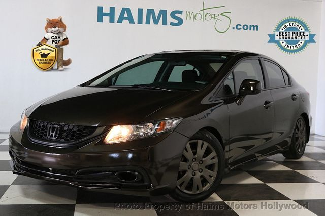 2013 Used Honda Civic Sedan 4dr Automatic EX At Haims Motors Hollywood  Serving Fort Lauderdale, Hollywood, Pompano Beach, FL, IID 17446264