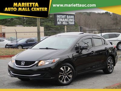 2013 Honda Civic Sedan 4dr Automatic EX - Click to see full-size photo viewer