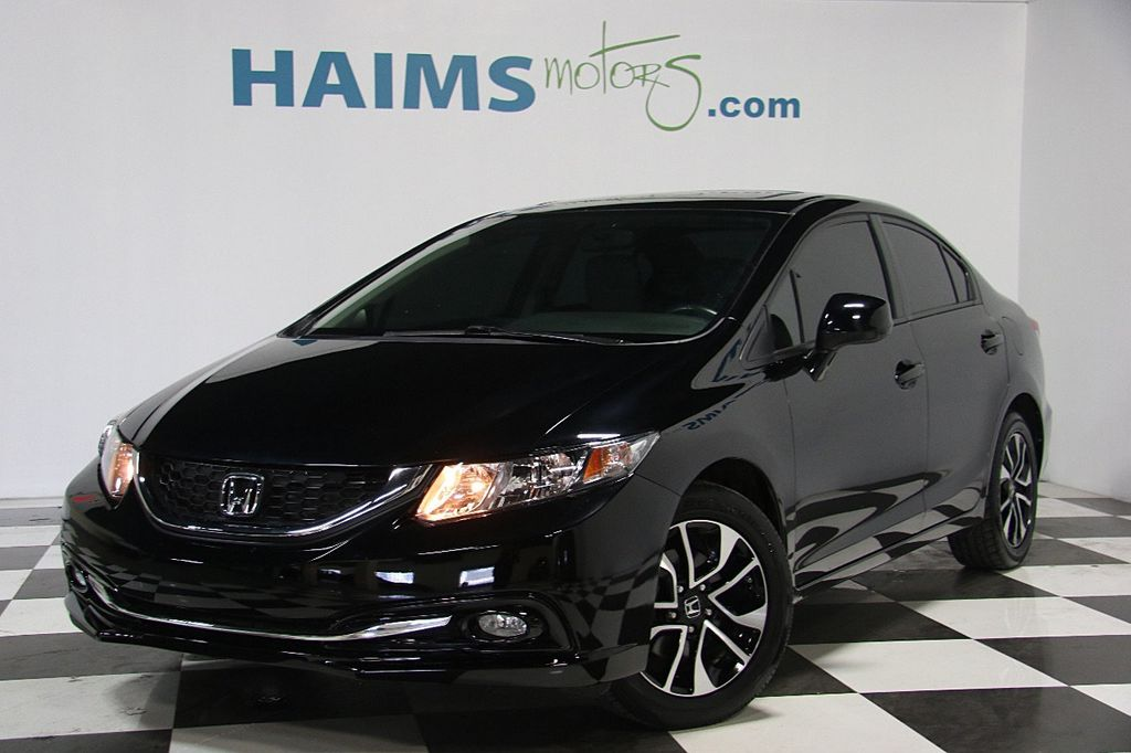 2013 used honda civic sedan 4dr automatic ex l at haims. Black Bedroom Furniture Sets. Home Design Ideas