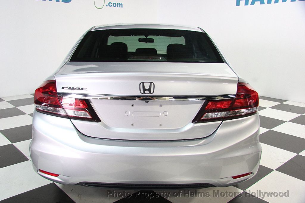 2013 used honda civic sedan 4dr automatic lx at haims motors hollywood serving fort lauderdale. Black Bedroom Furniture Sets. Home Design Ideas