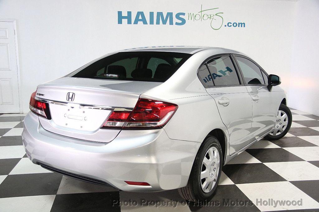 2013 used honda civic sedan 4dr automatic lx at haims for Honda hollywood service
