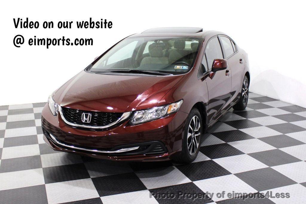 2013 Honda Civic Sedan CERTIFIED CIVIC EX - 18130544 - 0