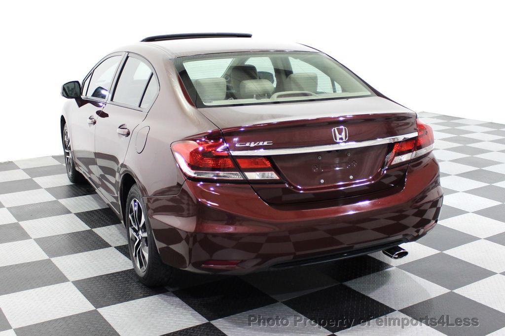 2013 Honda Civic Sedan CERTIFIED CIVIC EX - 18130544 - 16