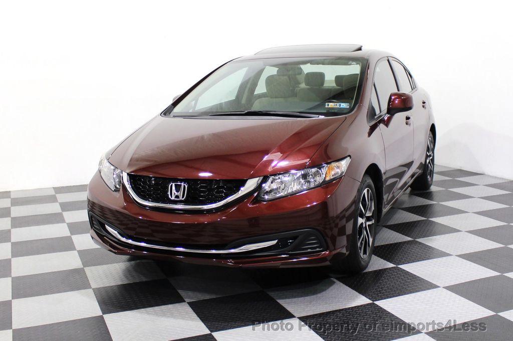 2013 Honda Civic Sedan CERTIFIED CIVIC EX - 18130544 - 28