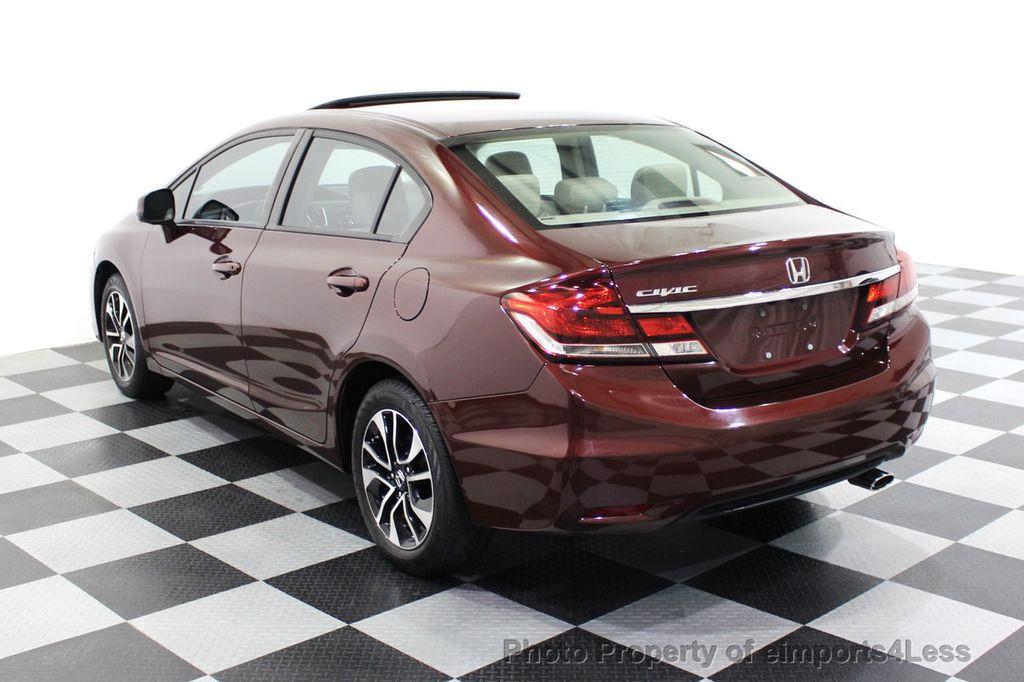 2013 Honda Civic Sedan CERTIFIED CIVIC EX - 18130544 - 2