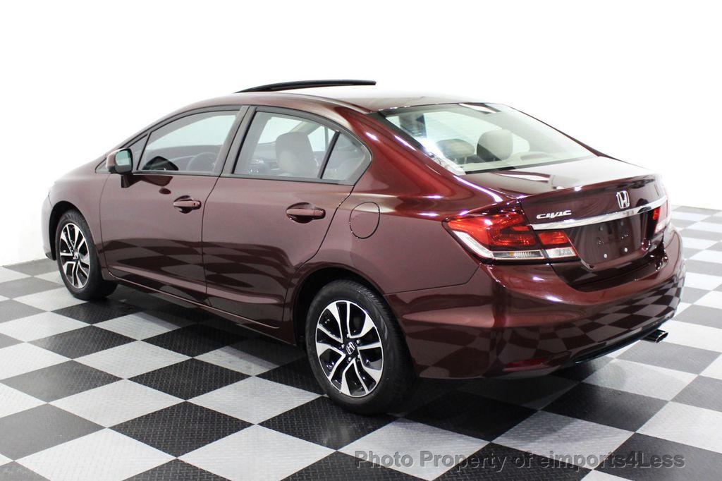 2013 Honda Civic Sedan CERTIFIED CIVIC EX - 18130544 - 30