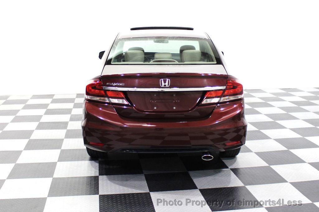 2013 Honda Civic Sedan CERTIFIED CIVIC EX - 18130544 - 31