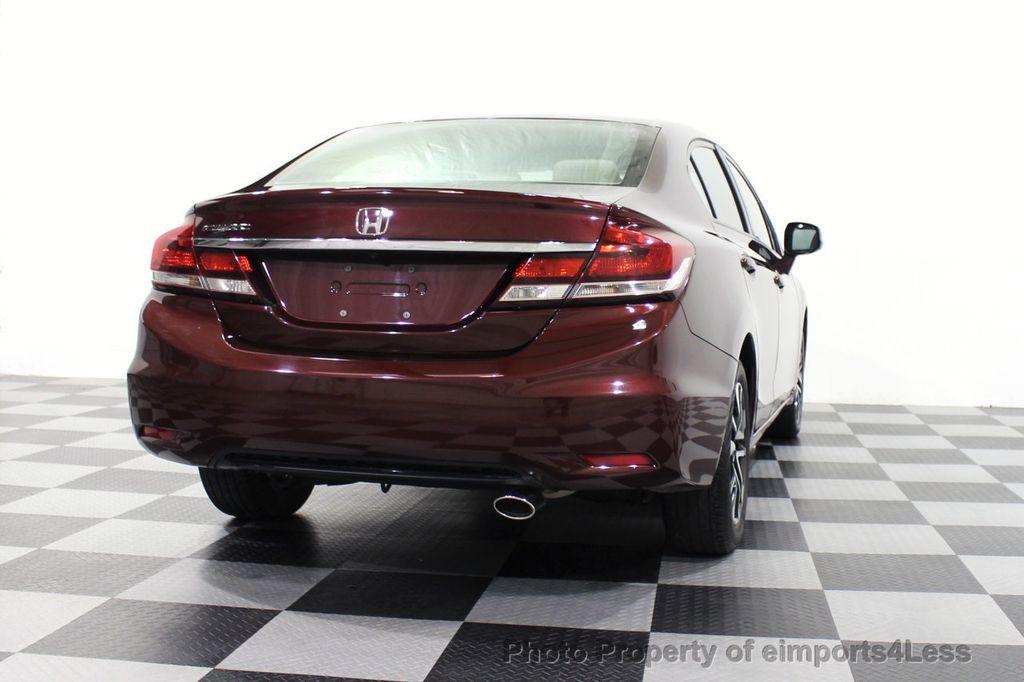 2013 Honda Civic Sedan CERTIFIED CIVIC EX - 18130544 - 32