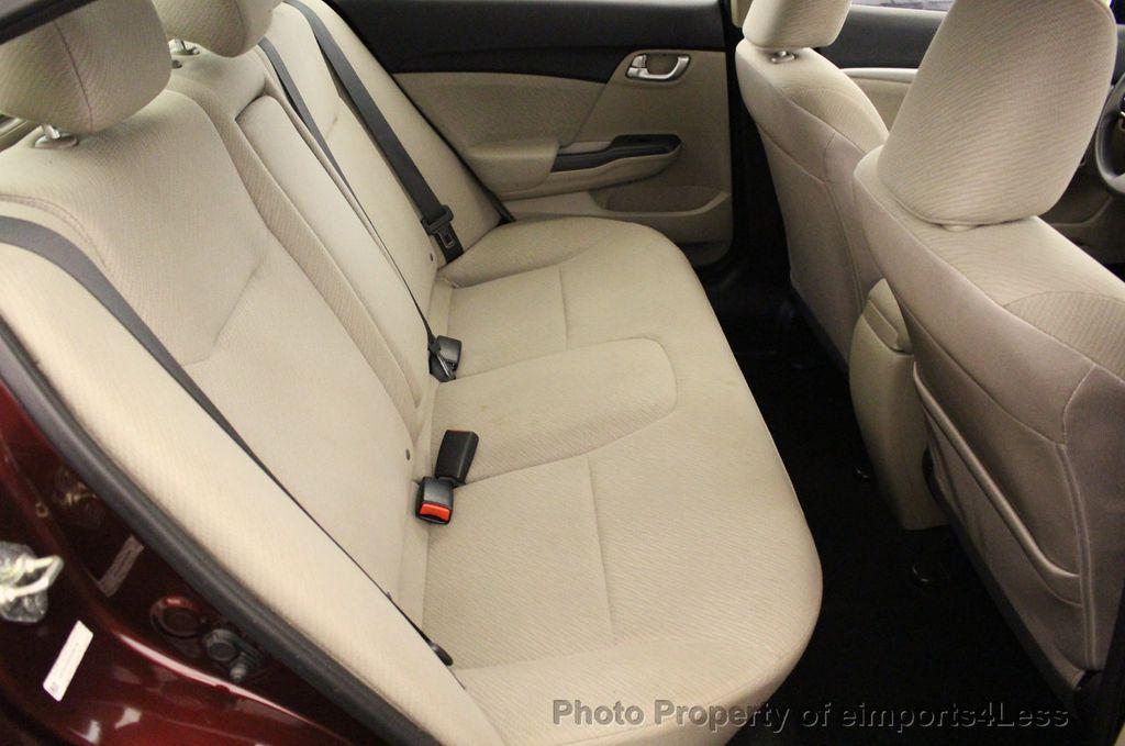 2013 Honda Civic Sedan CERTIFIED CIVIC EX - 18130544 - 37