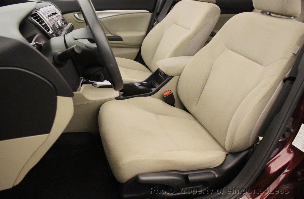 2013 Honda Civic Sedan CERTIFIED CIVIC EX - 18130544 - 38