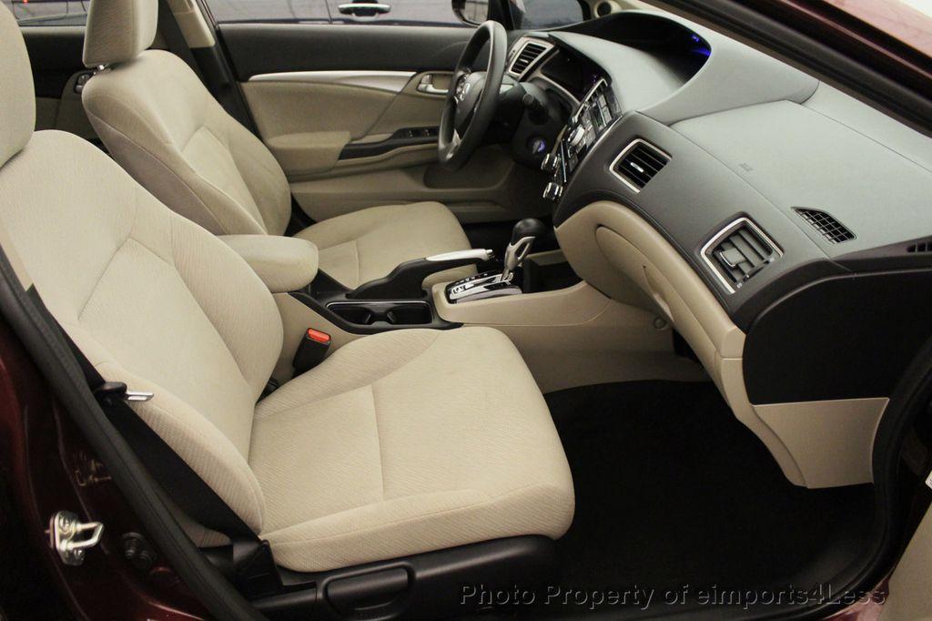2013 Honda Civic Sedan CERTIFIED CIVIC EX - 18130544 - 39