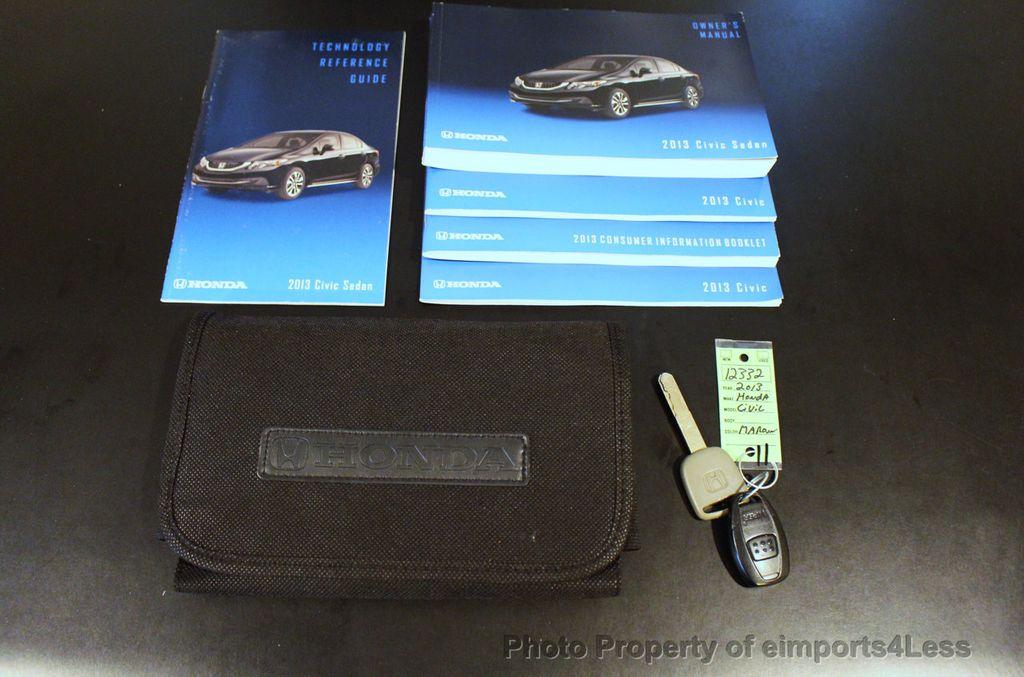 2013 Honda Civic Sedan CERTIFIED CIVIC EX - 18130544 - 40