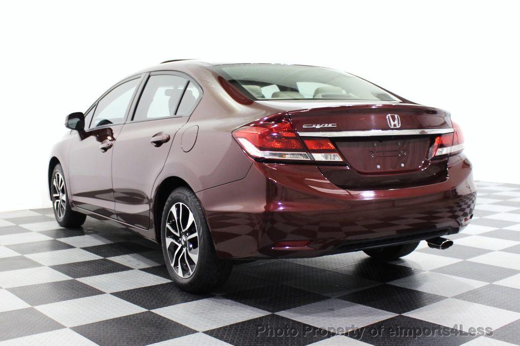 2013 Honda Civic Sedan CERTIFIED CIVIC EX - 18130544 - 46