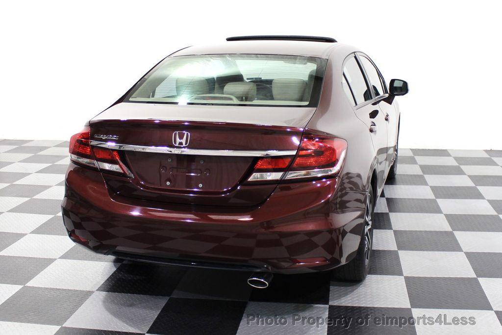2013 Honda Civic Sedan CERTIFIED CIVIC EX - 18130544 - 47