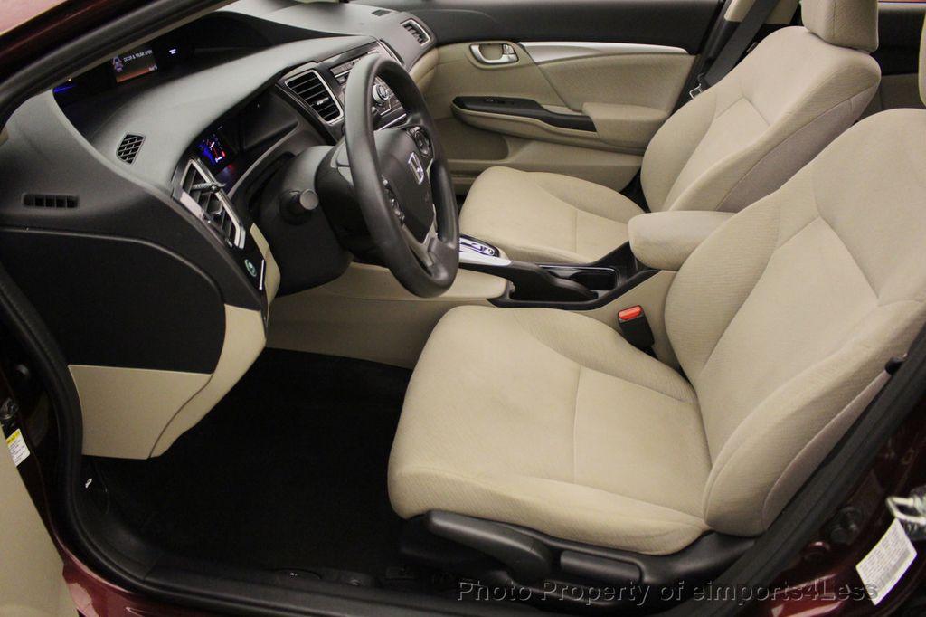 2013 Honda Civic Sedan CERTIFIED CIVIC EX - 18130544 - 48