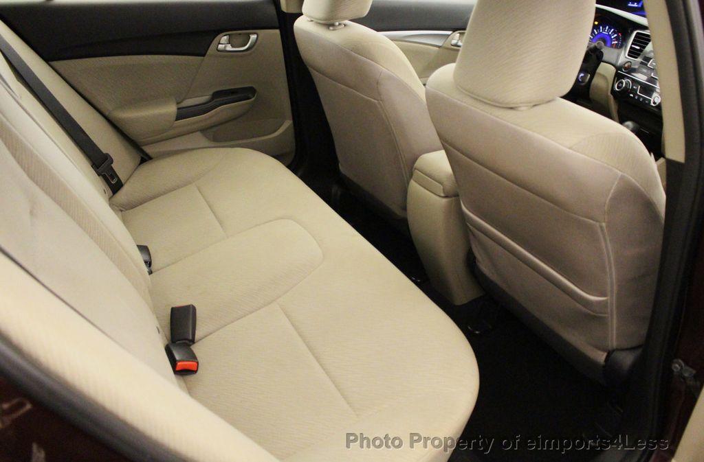2013 Honda Civic Sedan CERTIFIED CIVIC EX - 18130544 - 51