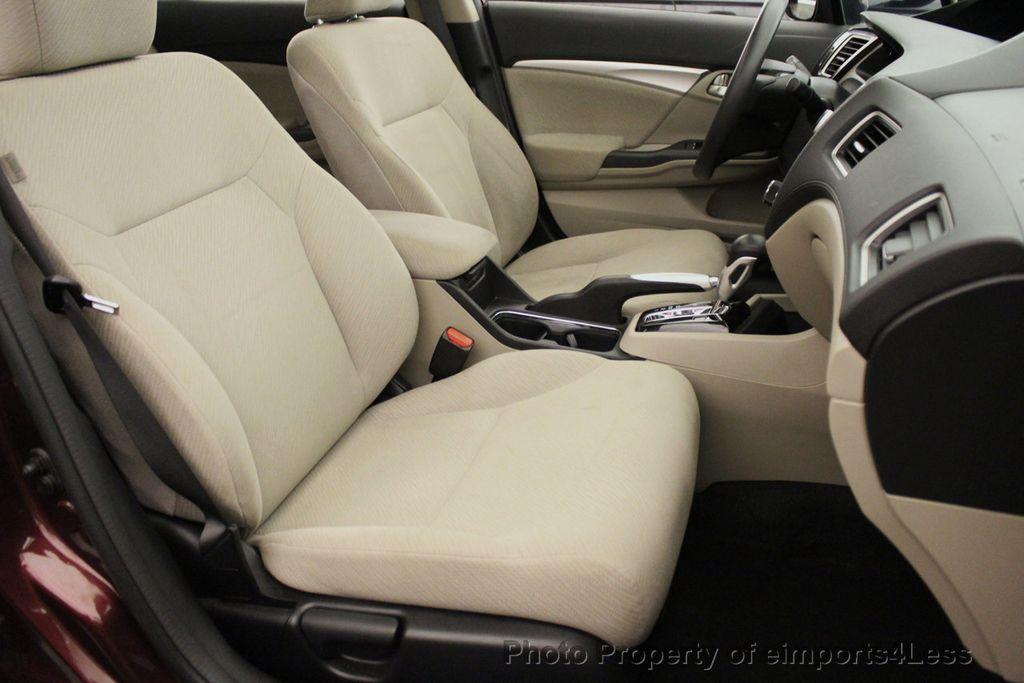 2013 Honda Civic Sedan CERTIFIED CIVIC EX - 18130544 - 8