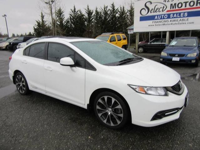 2013 Honda Civic Sedan Si 4dr Sedan Sedan   2HGFB6E57DH700967   1