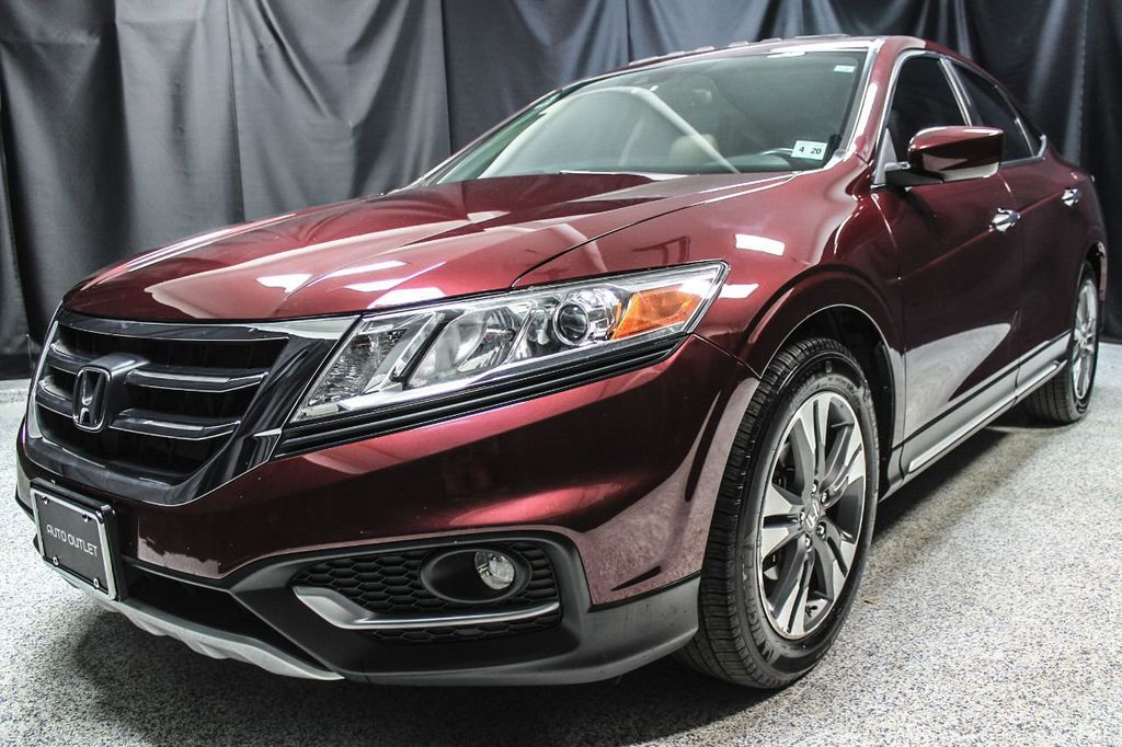 2013 Used Honda Crosstour 4wd V6 5dr Ex L At Auto Outlet Serving