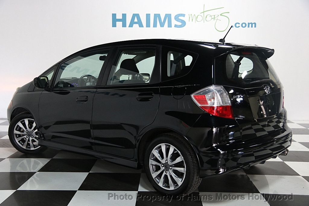 Honda Dealer Miami >> 2013 Used Honda Fit 5dr Hatchback Automatic Sport at Haims Motors Serving Fort Lauderdale ...
