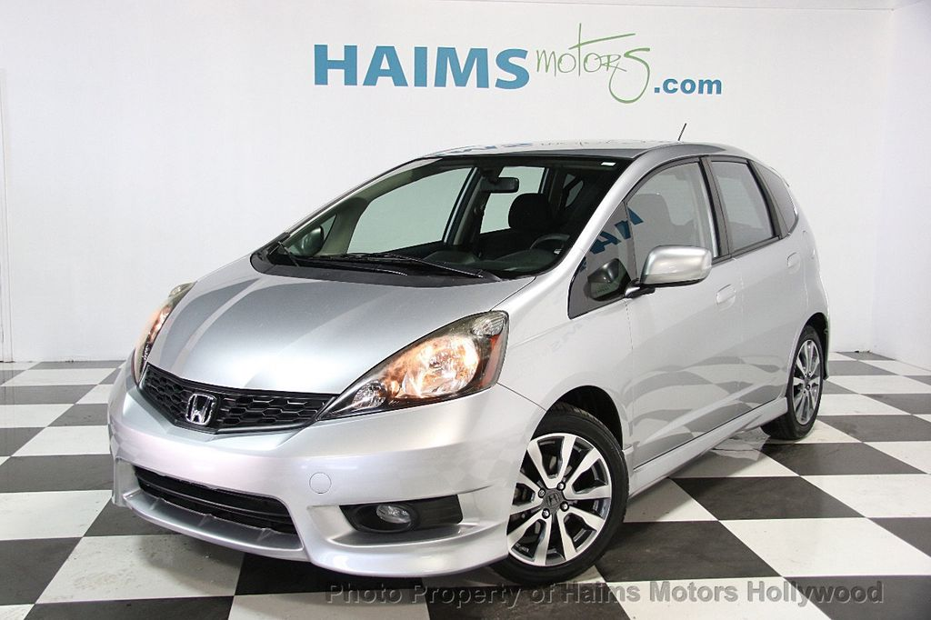 2013 used honda fit 5dr hatchback automatic sport at haims