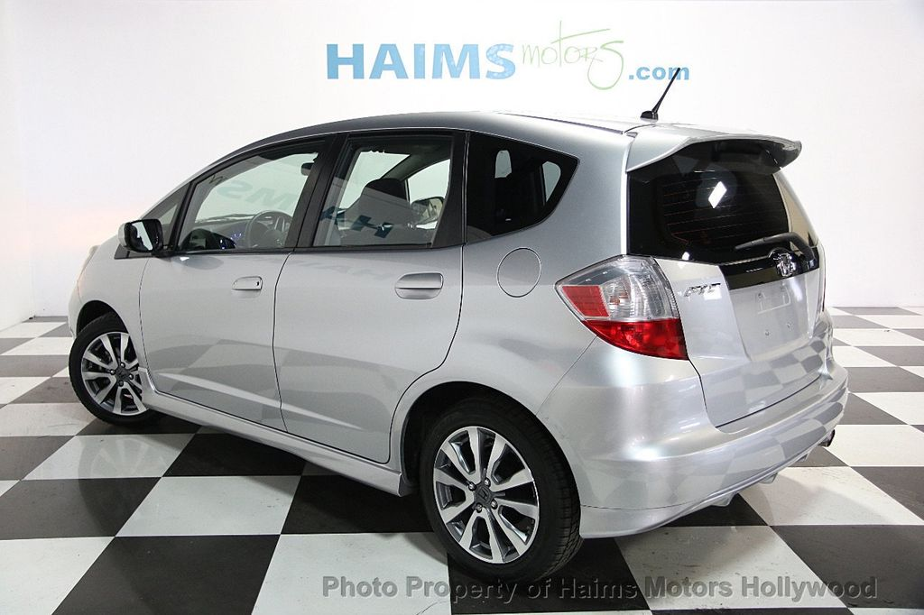 2013 used honda fit 5dr hatchback automatic sport at haims. Black Bedroom Furniture Sets. Home Design Ideas