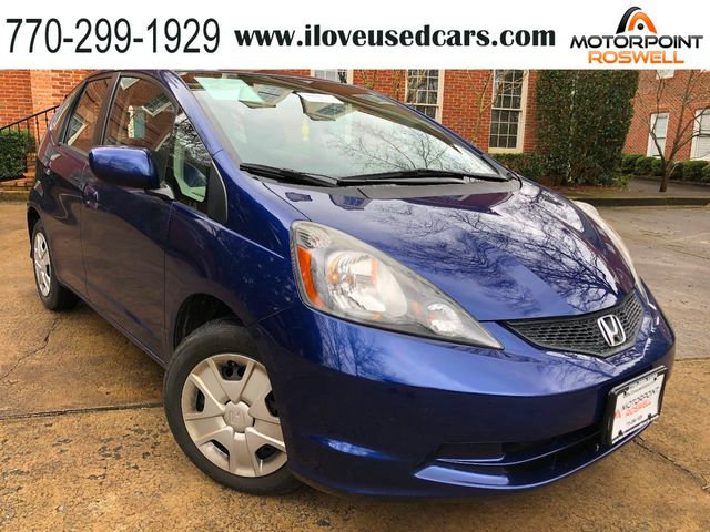 2013 Used Honda Fit 5DR HATCHBACK AUTO TILT WHEEL CRUISE CONTROL POWER  MIRRORS at Motorpoint Roswell, GA, IID 19010998