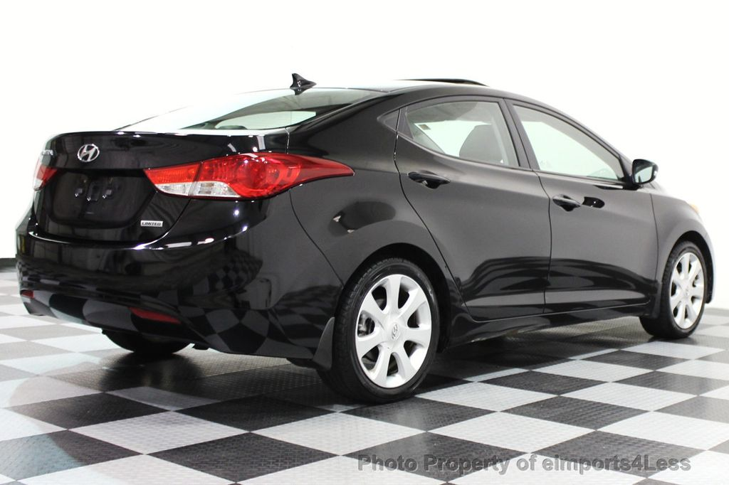 2013 used hyundai elantra elantra limited sedan at. Black Bedroom Furniture Sets. Home Design Ideas