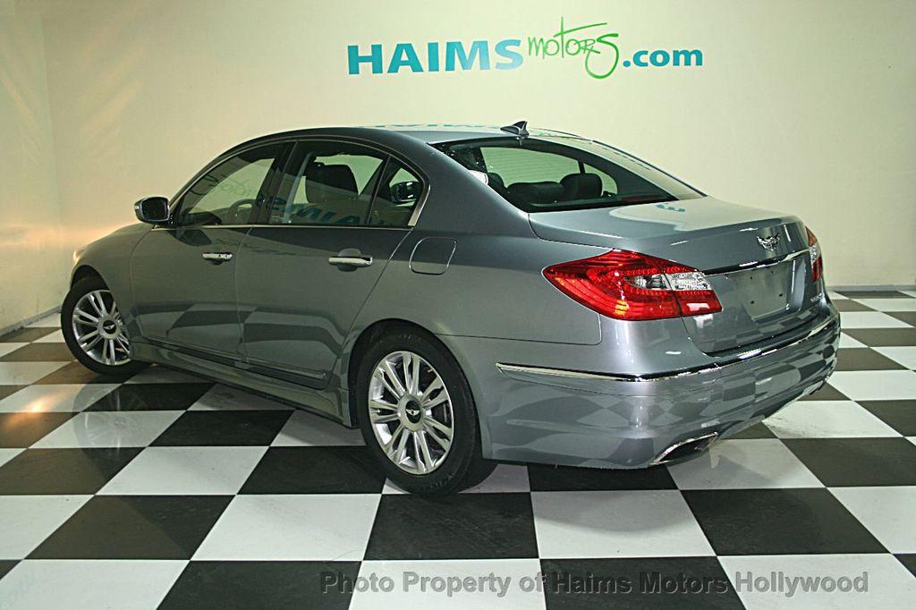 2013 Hyundai Genesis 4dr Sedan V6 3.8L   14604706   5