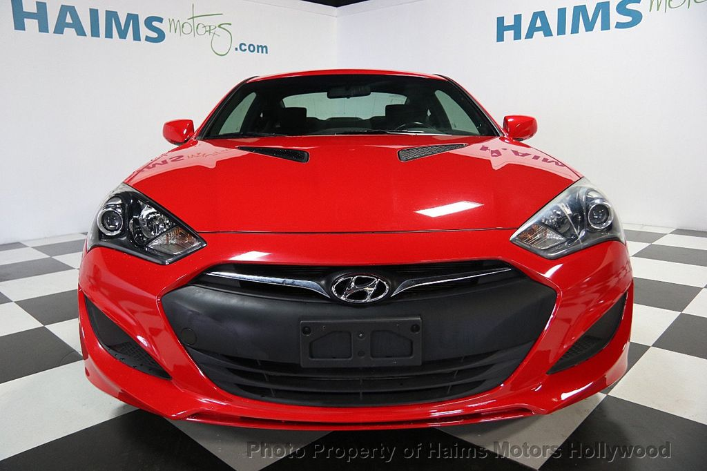 2013 used hyundai genesis coupe 2dr i4 2 0t automatic at haims motors hollywood serving fort. Black Bedroom Furniture Sets. Home Design Ideas