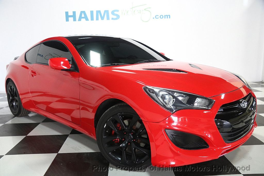 2013 Used Hyundai Genesis Coupe 2dr I4 2 0t Automatic At Haims Motors Serving Fort Lauderdale