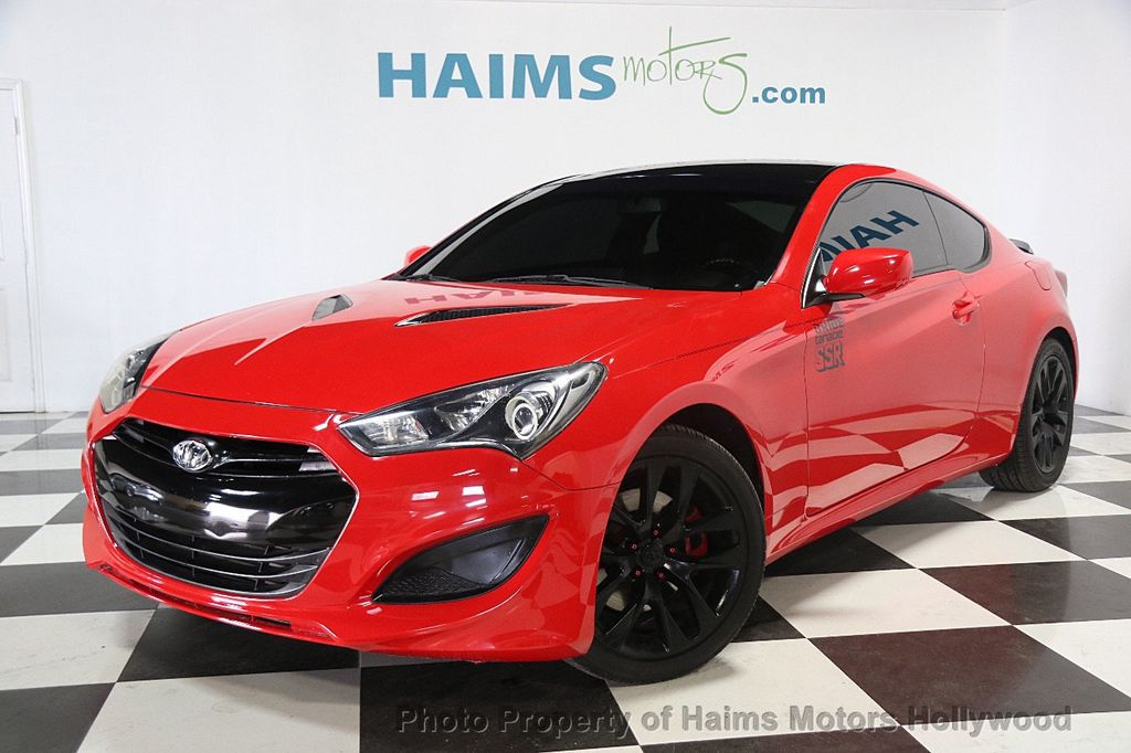 2013 used hyundai genesis coupe 2dr i4 2 0t automatic premium at haims motors ft lauderdale. Black Bedroom Furniture Sets. Home Design Ideas