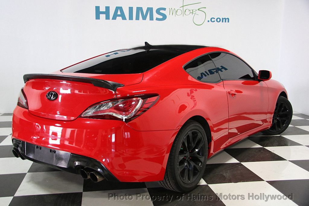 Used Cars Miami >> 2013 Used Hyundai Genesis Coupe 2dr I4 2.0T Automatic Premium at Haims Motors Serving Fort ...