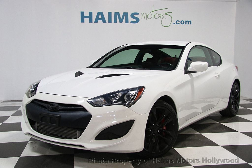 2013 Hyundai Genesis Coupe 2dr I4 2.0T Manual R-Spec - 16303188 - 0