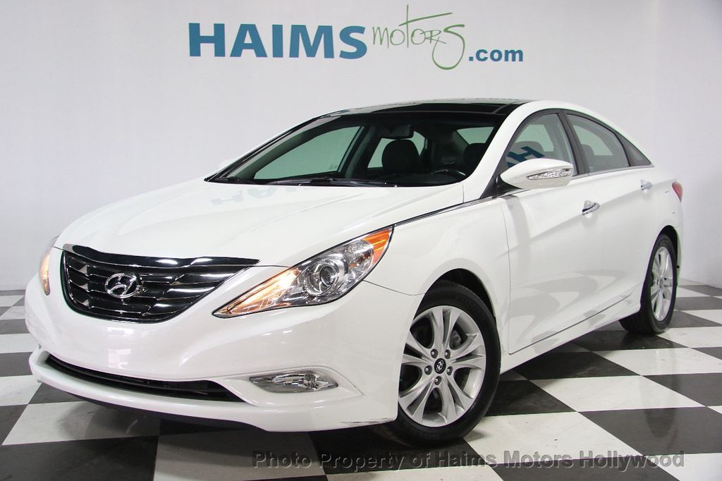2013 used hyundai sonata 4dr sedan 2 4l automatic limited at haims motors hollywood serving fort. Black Bedroom Furniture Sets. Home Design Ideas