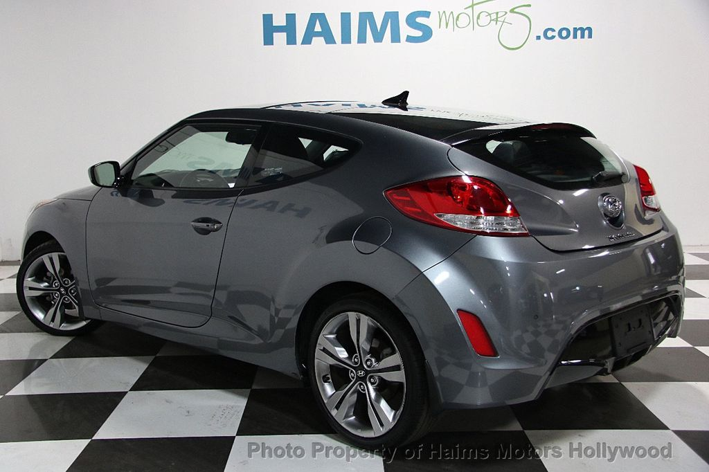 2013 used hyundai veloster 3dr coupe automatic w black int at haims motors serving fort. Black Bedroom Furniture Sets. Home Design Ideas