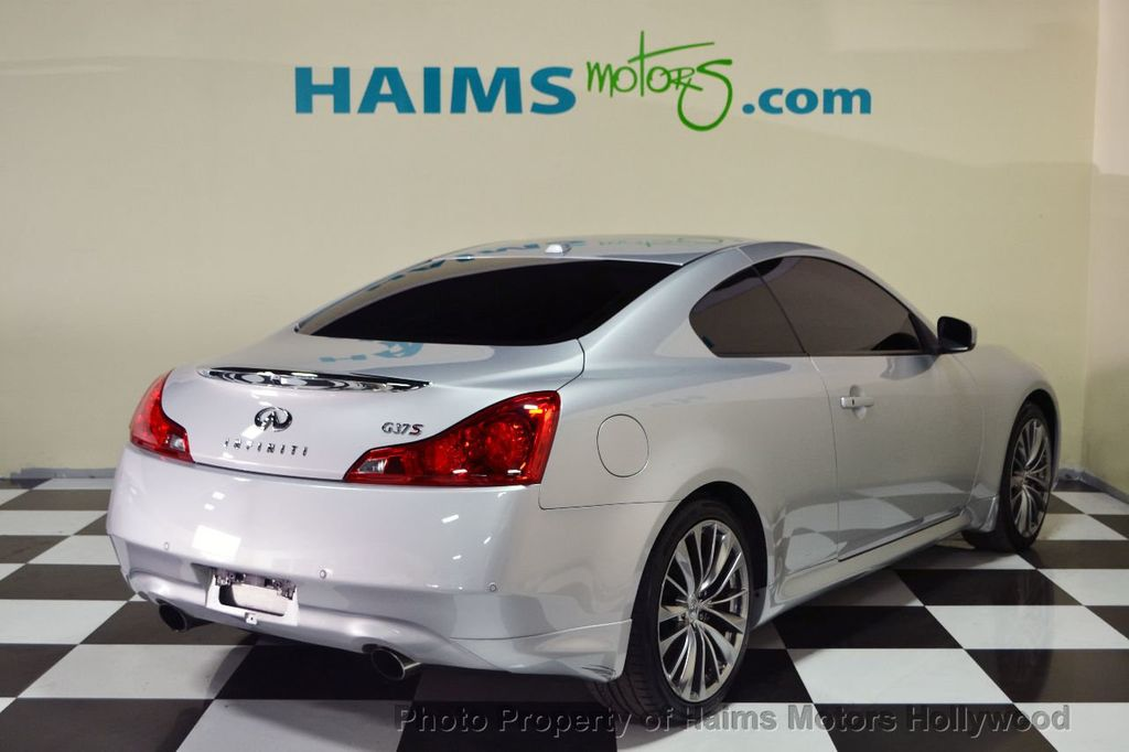 2013 used infiniti g37 coupe 2dr sport 6mt rwd at haims motors serving fort lauderdale. Black Bedroom Furniture Sets. Home Design Ideas