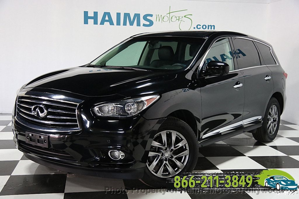 2013 used infiniti jx35 awd 4dr at haims motors serving fort lauderdale hollywood miami fl. Black Bedroom Furniture Sets. Home Design Ideas