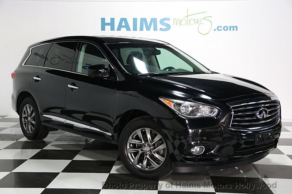 2013 Used Infiniti Jx35 Awd 4dr At Haims Motors Serving Fort