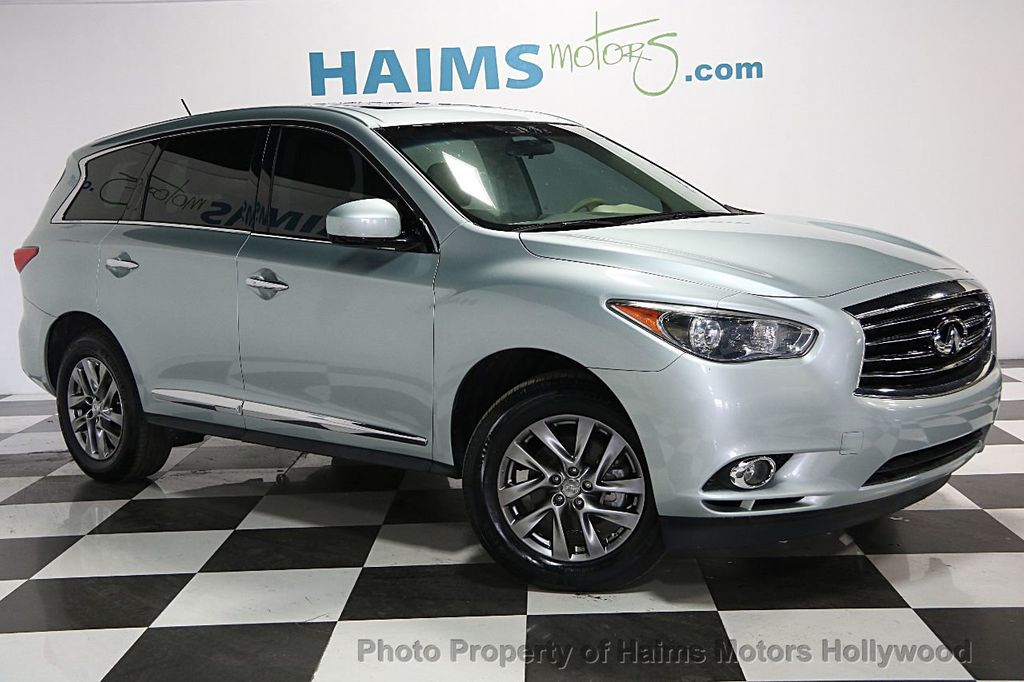 2013 Used Infiniti Jx35 Jx35 Base At Haims Motors Serving Fort