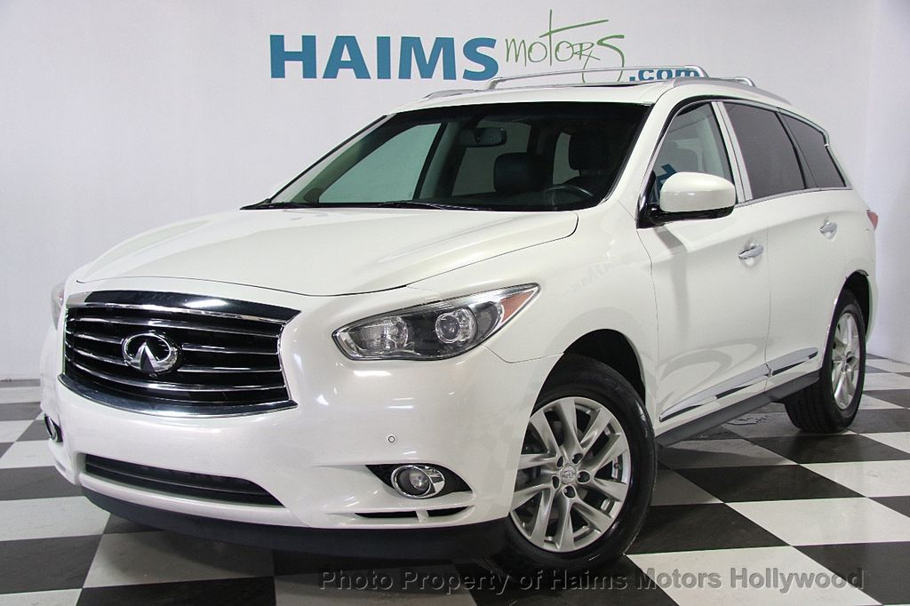 2013 Used Infiniti Jx35 Jx35 Base At Haims Motors Ft Lauderdale